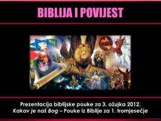BIBLIJA I POVIJEST