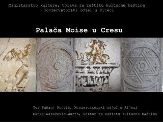 Palača Moise u Cresu