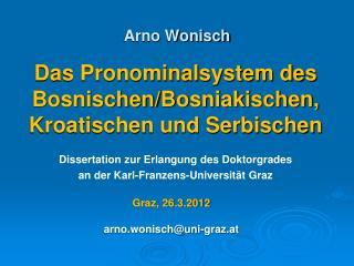 Arno Wonisch