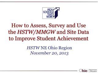HSTW  NE Ohio Region November 20, 2013