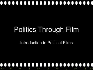 Politics Through Film