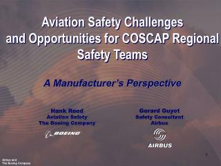Hank Reed Aviation Safety The Boeing Company