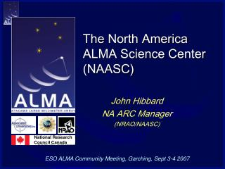 The North America ALMA Science Center (NAASC)
