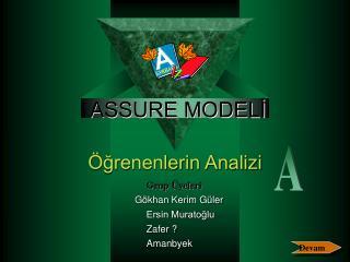 ASSURE MODELİ