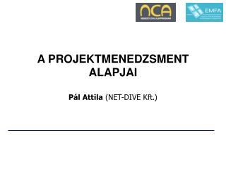 A PROJEKTMENEDZSMENT ALAPJAI Pál Attila  (NET-DIVE Kft.)