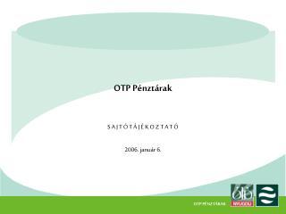 OTP Pénztárak