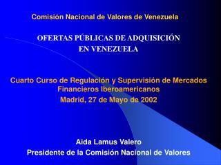 Comisión Nacional de Valores de Venezuela