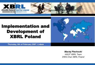 Implementation and  Development of XBRL Poland