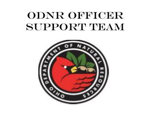 ODNR Officer Support Team
