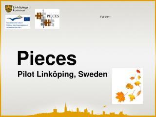 Pieces     Pilot Linköping, Sweden