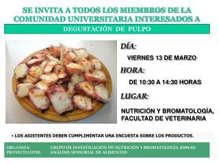 SE INVITA A TODOS LOS MIEMBROS DE LA COMUNIDAD UNIVERSITARIA INTERESADOS A