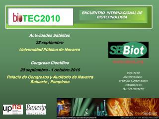 ENCUENTRO  INTERNACIONAL DE BIOTECNOLOGIA