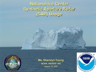 National Ice Center  Synthetic Aperture Radar (SAR) Usage
