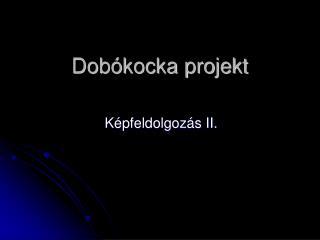 Dobókocka projekt