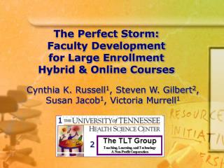 The Perfect Storm: Faculty Development for Large Enrollment  Hybrid  Online Courses