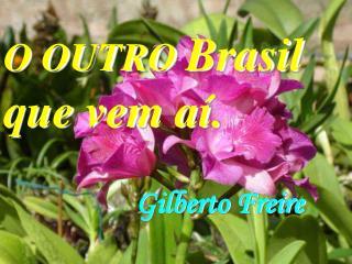 O OUTRO  Brasil  que vem aí.