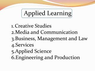 Applied Learning