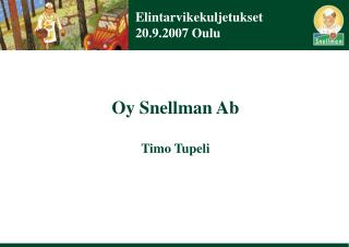 Elintarvikekuljetukset 20.9.2007 Oulu