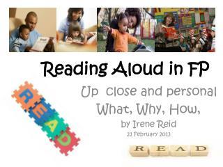 Reading Aloud in FP