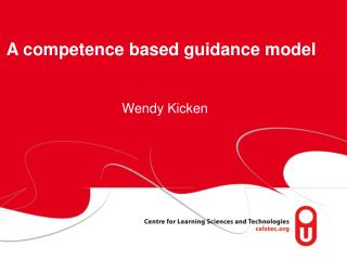 A competence based guidance model
