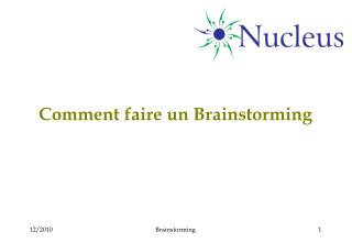 Comment faire un Brainstorming