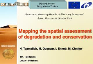 DESIRE Project Study site 9 - Tunisia