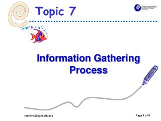 Information Gathering Process