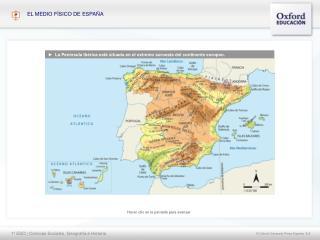 ►   La Península Ibérica está situada en el extremo suroeste del continente europeo.