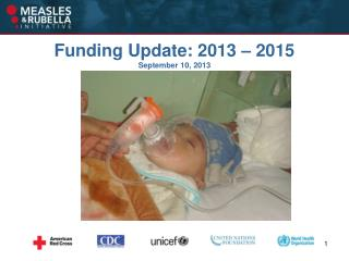 Funding Update: 2013 – 2015 September 10, 2013