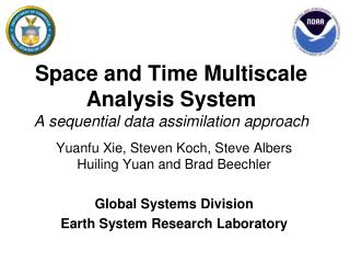 Space and Time Multiscale Analysis System A sequential data assimilation approach