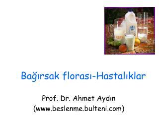 Bağırsak florası-Hastalıklar