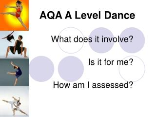 AQA A Level Dance