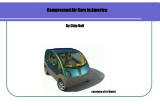 Compressed Air Cars in America