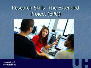 Research Skills: The Extended Project (EPQ)