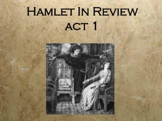 Hamlet In Review act 1