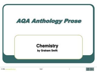 AQA Anthology Prose