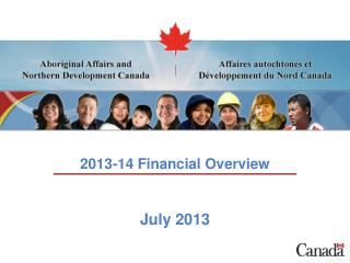 2013-14 Financial Overview July 2013