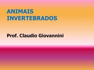 ANIMAIS  INVERTEBRADOS Prof. Claudio Giovannini