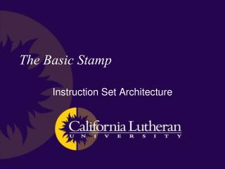 The Basic Stamp