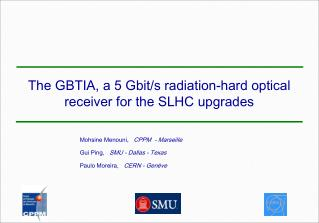 The GBTIA, a 5 Gbit/s radiation-hard optical receiver for the SLHC upgrades