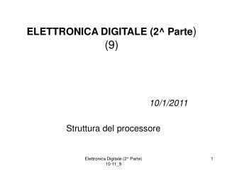 ELETTRONICA DIGITALE (2^ Parte )  (9)
