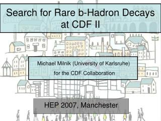 Search for Rare b-Hadron Decays at CDF II