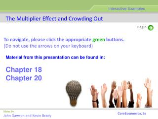The Multiplier Effect and Crowding Out