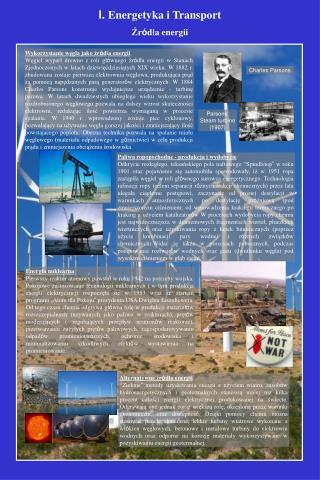 Wykorzystanie węgla jako źr ó d ł a  energii