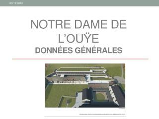 Notre Dame de l' Ouÿe Données générales