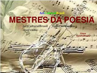 ArtCulturalBrasil  -  Todos os direitos reservados