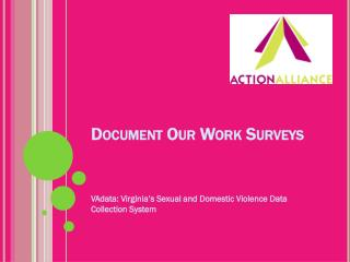 Document Our Work Surveys
