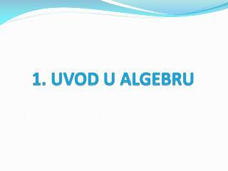 1.1.  Matematička logika