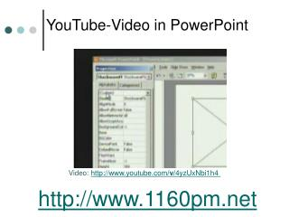 YouTube-Video in PowerPoint