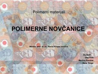 Polimerni materijali